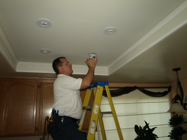 Lighting Dos Vientos Recessed Lighting Installation