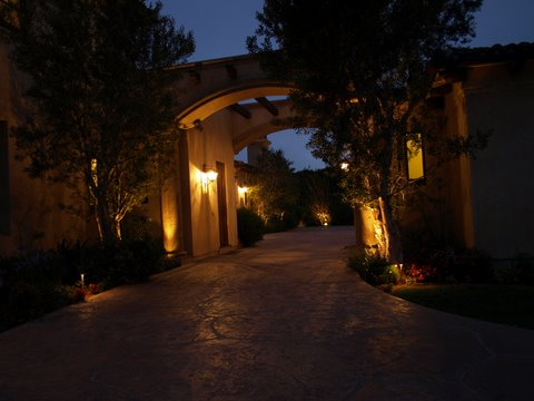 Lighting Dos Vientos Walkway